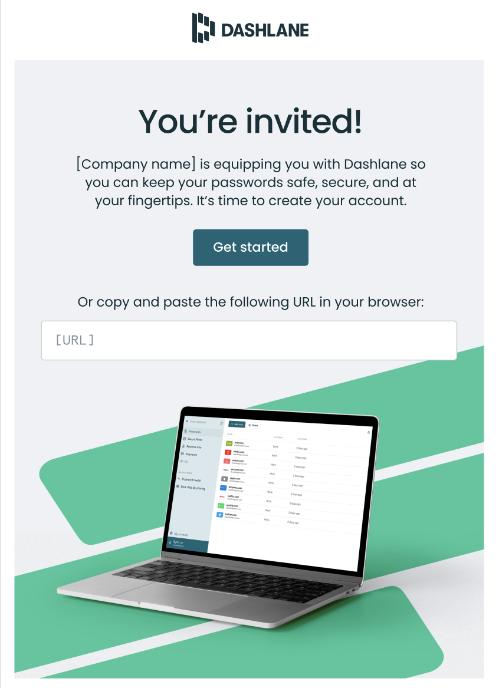 Einladungs-E-Mail